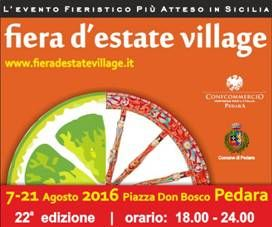 Dal 7 agosto torna Fiera d`Estate Village