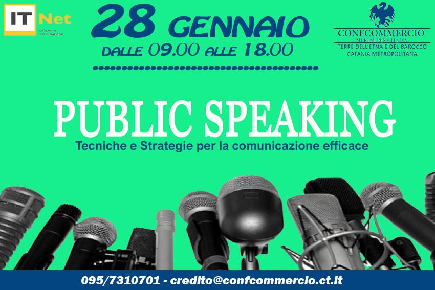 PUBLIC SPEAKING: tecniche e strategie per la comunicazione efficace