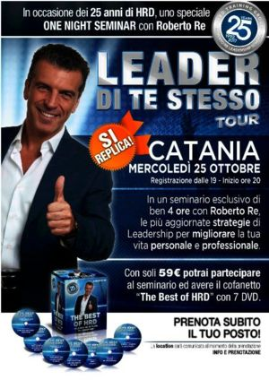 LEADER DI TE STESSO TOUR  CON ROBERTO RE